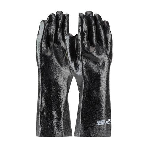 "PIP 58-8040R ProCoat PVC Dipped Glove with Interlock Liner and Semi-Rough Finish - 14"" - Box/12 Pairs"