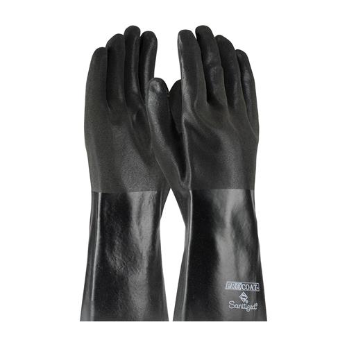 "PIP 58-8364 ProCoat PVC Dipped Glove with Jersey Liner and Premium Sandy Finish - 14"" - Box/12 Pairs"