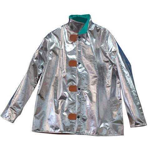 "CPA Chicago Protective Apparel 600-ACK Aluminized 30"" Jacket Carbon Kevlar"