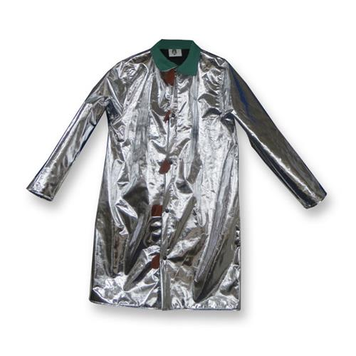 "CPA Chicago Protective Apparel 601-ACX10 Aluminized 40"" Jacket CarbonX"