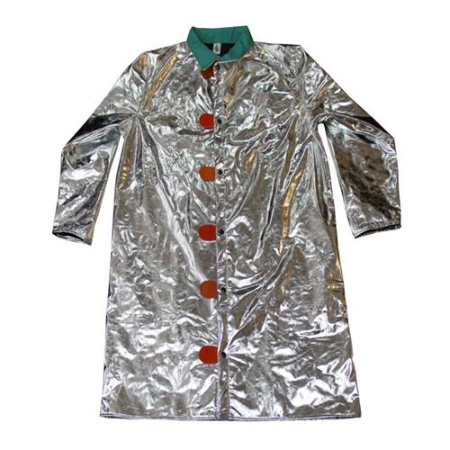 "CPA Chicago Protective Apparel 602-ACK Aluminized 45"" Jacket Carbon Kevlar"
