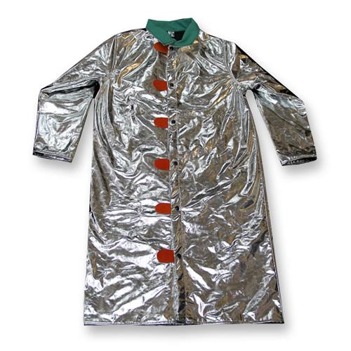 "CPA Chicago Protective Apparel 603-ACK Aluminized 50"" Jacket Carbon Kevlar"