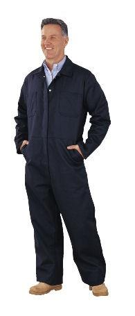 Chicago Protective Apparel 605-IND-N Indura Navy Fire Resistant Coverall