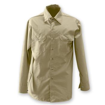Chicago Protective Apparel 625-USK 70E Indura Ultra Soft FR Work Shirt, Khaki