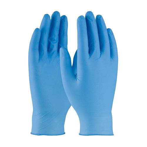 PIP 63-332PF Ambi-dex Industrial Grade Disposable Nitrile Powder Free 5 Mil Glove, Sold 10 Box / Case