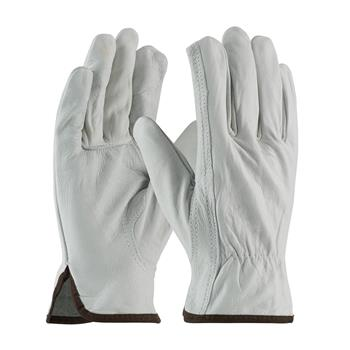PIP 68-162 Economy Grade Top Grain Cowhide Leather Driver's Glove - Keystone Thumb - Box/12 Pairs