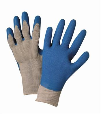 West Chester 700SLC, Heavy Blue Latex Coated, Cotton/Polyester 10-Cut Knit Gloves