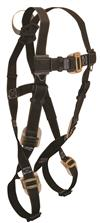 FallTech 7051 Arc Flash Web Loop Full Body Harness, Nomex / Kevlar, Leather Insulated Buckles and Adjusters, 425 lb Rated
