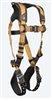 FallTech 7080B  Advanced ComforTech® Gel 1D Standard Non-belted Full Body Harness, Tongue Buckle Leg Adjustment Small - Big Boys 3XL, 425 lb Max