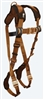 FallTech 7082FD  ComforTech® Original Steel 2D Climbing Non-belted Full Body Harness, Quick Connect Adjustment - Front D-Ring