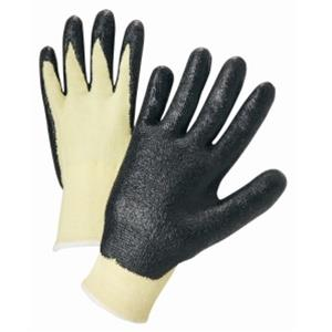 West Chester 713KSNF Nitrile Coated Kevlar String Knit Gloves - Box/12 Pairs