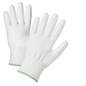 West Chester 720DWU White PU Palm Coated White HPPE Gloves - Box/12 Pairs