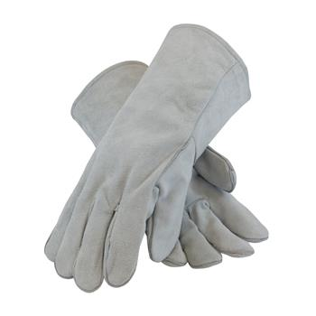 PIP 73-888  Shoulder Split Cowhide Leather Welder's Glove with Cotton Liner - Box/12 Pairs