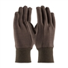 West Chester 750, Standard Weight, Poly/Cotton, Brown Jersey, Knit Wrist Gloves