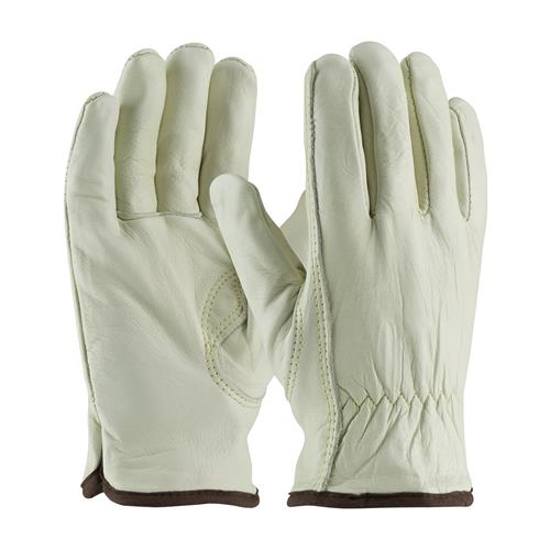 PIP 77-265 Regular Grade Top Grain Cowhide Leather Glove with White Thermal Lining - Keystone Thumb - Box/12 Pairs