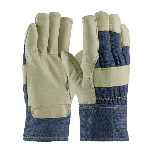 PIP 78-3927 Pigskin Leather Palm Glove with Fabric Back & 3M Thinsulate Lining - Safety Cuff - Box/12 Pairs