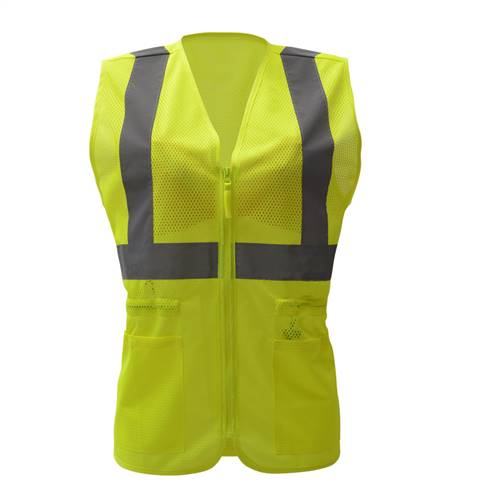 GSS Safety 7803 Class 3 Standard Windbreaker-Lime