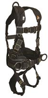FallTech 8073R Arc Flash Full Body Belted Harness, Nomex / Kevlar, 3 D-Rings, Mating Buckle Legs & Chest, Rescue Loops, 425 lb Rated
