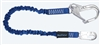 FallTech 82403A   4 1/2' - 6'  ElasTech Energy Absorbing Stretch Lanyard, with Aluminum Rebar Hook
