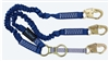 FallTech 8240Y2D   4 1/2' - 6'  ElasTech Energy Absorbing Stretch Y Lanyard, Dual Leg with Snap Hooks & SRL D-Ring
