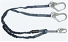 FallTech 8259Y3   6' Internal / Low Profile Y Lanyard Lanyard, Dual Leg with Steel Rebar Hooks