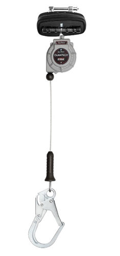 FallTech 83909SP3 DuraTech 9' Leading Edge Personal SRL with Steel Rebar Hook