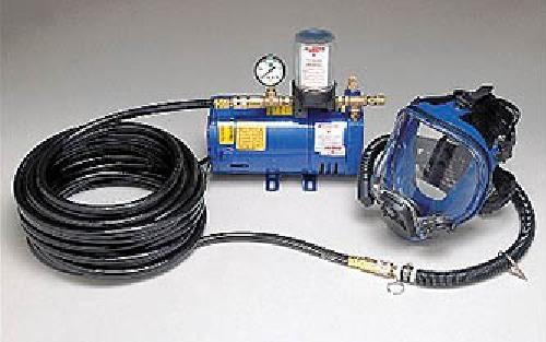 Allegro 9210-01  Full Mask Low Pressure SAR System with 100' Breathing Hose One Worker