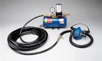 Allegro 9215-01 Half Mask Low Pressure SAR System with 100' Breathing Air Hose One Worker
