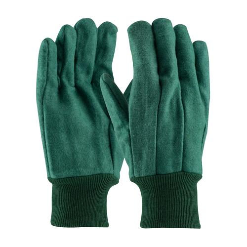 PIP 93-548  Premium Grade Cotton Chore Glove with Double Layer Palm/Back and Nap-out Finish - Knitwrist  - Box/12 Pairs
