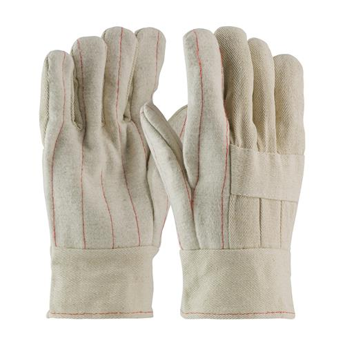PIP 94-928  Premium Grade Hot Mill Glove with Three-Layers of Cotton Canvas and Burlap Liner- 28 oz, Band Top Cuff - Box/12 Pairs