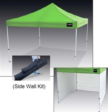 Allegro 9403-10 Hi-Viz Green Utility Canopy Shelter w/ Optional Side Wall Kit