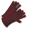 West Chester 940R, Standard Russet Split Cowhide Leather Welders Glove, Size Large - Box/ 12 Prs