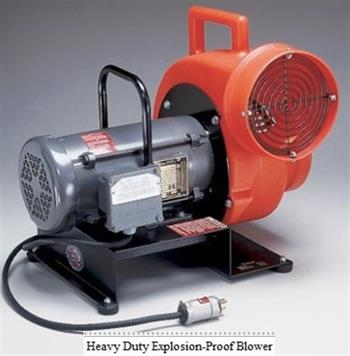 Allegro 9503 - Heavy Duty Explosion-Proof Centrifugal Blower,  3/4 HP Motor, Single Phase