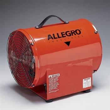 "Allegro 9509-01 - 12"" Explosion-Proof Axial Blower, UL listed"