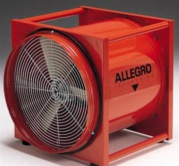 "Allegro 9525-01 - 20"" Explosion-Proof Axial Blower"