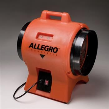 "Allegro 9539-12, 12"" Industrial Plastic Axial Blower"