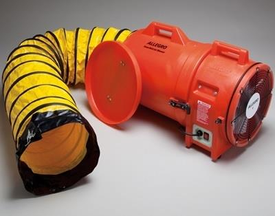 "Allegro 9543-25 - 12"" Plastic Axial Blower with Canister & 25' of Ducting # 9543-25"