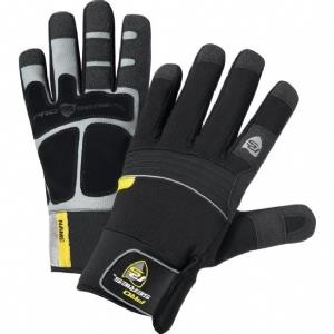 West Chester 96653 Pro-Series Hi-Dexterity Synthetic Leather Waterproof Fleece Lined Extreme Cold Weather Glove with PVC Grip, Qty: Pair