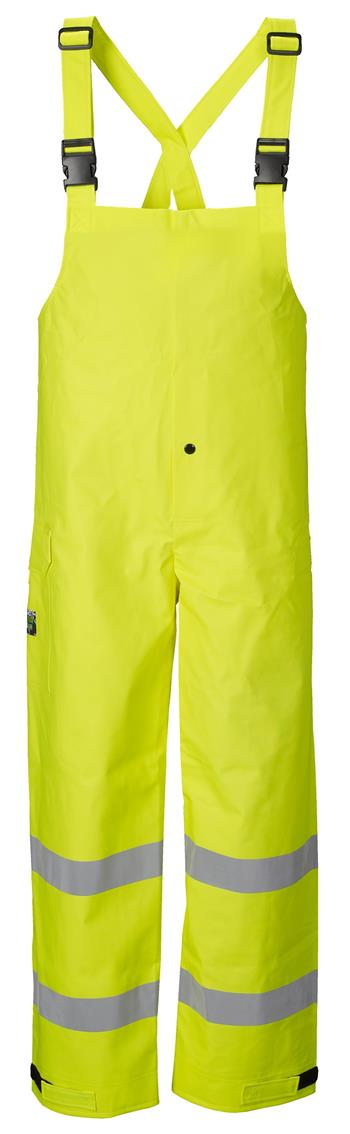 Lakeland ABPVC10LY PVC Arc Tech Hi Vis Class E Rain Bib for Arc Flash & Flash Fire