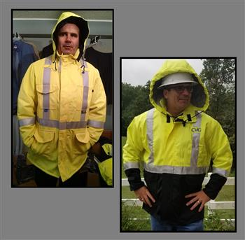 AmeriFire-AR AMFR-HWA5091 Lineman Arc Flash Winter Lined Waterproof Hi Vis Class 3 FR Parka