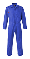 Saf-Tech CJS08 7 oz Indura, 100% Cotton, Arc Rated FR Contractor Coverall, 8 cal, 70E and 2112 Compliant, Made in USA