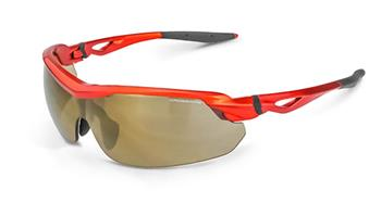 CrossFire Cirrus Premium Safety Glass, Sleek with Adjustable Nose Piece