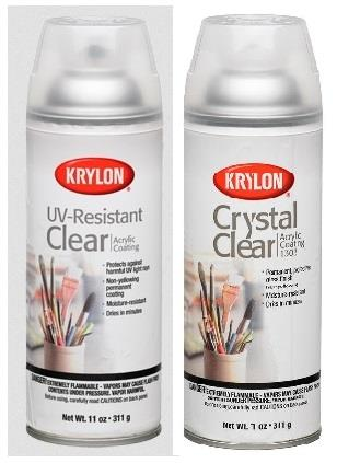 Krylon Crystal Clear Coatings