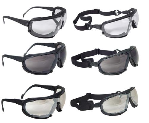 Radians Dagger Foam Lined Goggle Safety Glass Series