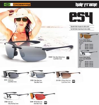 CrossFire ES4 Safety Glass