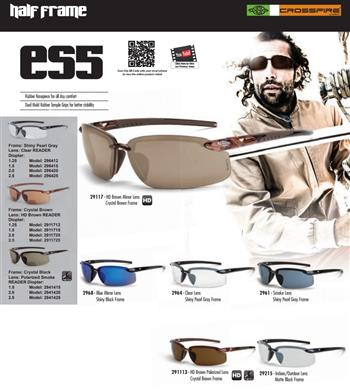 CrossFire ES5 Safety Glasses- group