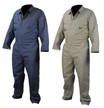 Radians FRCA-002 VolCore Cotton FR Coverall, ATPV 8.5 Cal, NFPA 2112, 70E PPE CAT 2, Navy Or Khaki