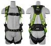 SafeWaze FS-FLEX253-FD Premium Construction Harness with Flex Design, Front D-Ring, Belt, Floating Waist Pad, Leg Pads, Side D-Rings, Ergonomics & Quick Connects