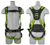 SafeWaze FS-FLEX270 Iron Workers Harness with Flex Design, Belt, Fixed Waist Pad, Leg Pads, Side D-Rings, Ergonomics
