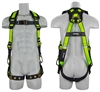SafeWaze FS-FLEX285 Premium Construction Harness with Side D-Rings, Flex Design, Ergonomics and Grommet Leg Straps